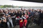Alvaro Bautista mit den Ducati-Fans