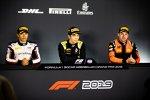 Jack Aitken (Campos), Nyck de Vries (ART) und Jordan King (MP Motorsport)