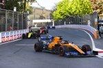 Carlos Sainz (McLaren), Daniel Ricciardo (Renault) und Charles Leclerc (Ferrari)