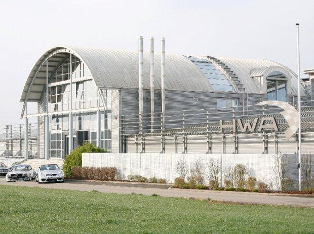 HWA, Affalterbach, Fabrik