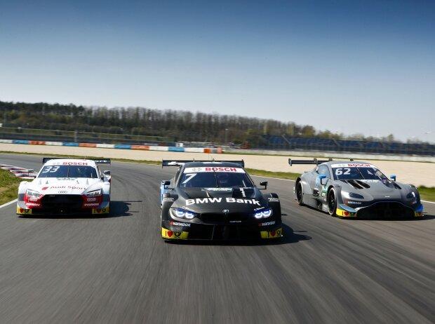 Audi, BMW, Aston Martin
