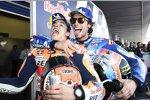 Marc Marquez (Honda) und Alex Rins (Suzuki)
