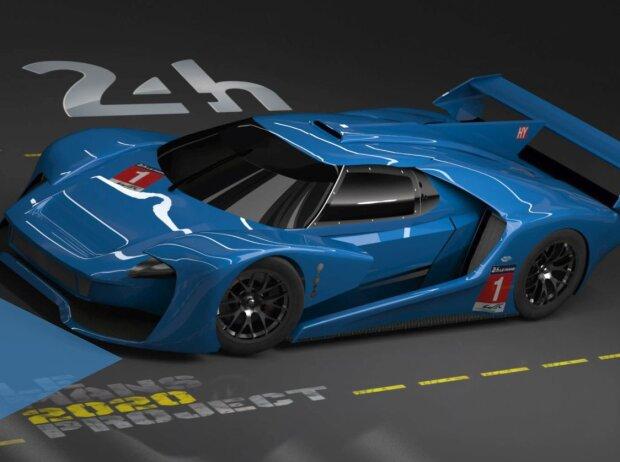 Studie: Hypercar für WEC und Le Mans 2020