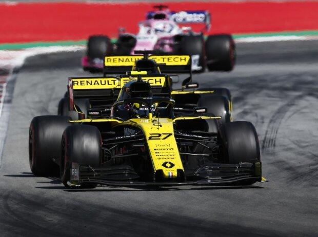 Nico Hülkenberg, Daniel Ricciardo, Sergio Perez