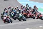 Moto2 Start in Jerez