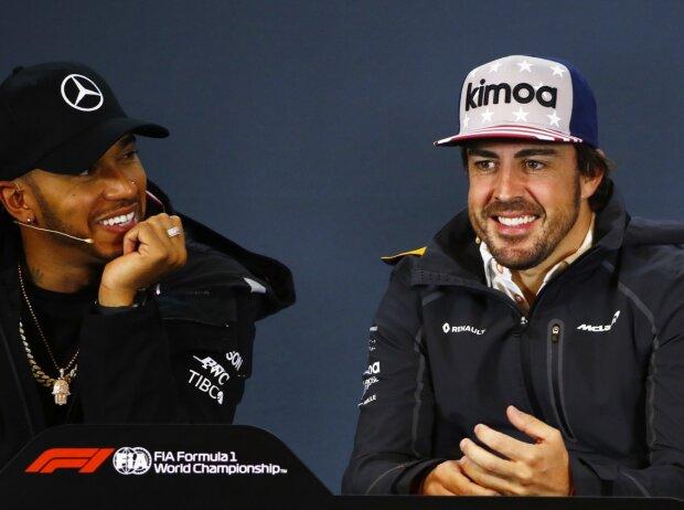 Lewis Hamilton, Fernando Alonso, Daniel Ricciardo