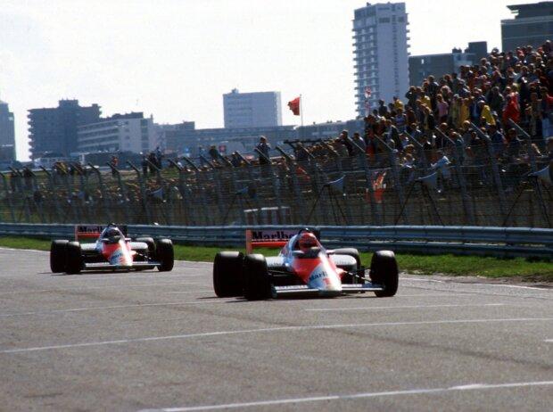 Niki Lauda, Alain Prost, Zandvoort 1985