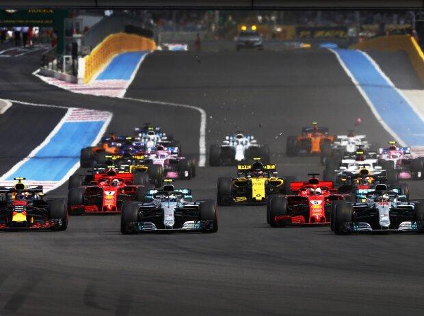 Start zum GP Frankreich 2018 in Le Castellet