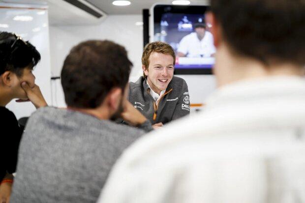 Oliver Turvey McLaren McLaren F1 Team F1 ~Oliver Turvey ~
