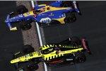 Sebastien Bourdais (Coyne) und Alexander Rossi (Andretti)