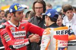 Marc Marquez (Honda) und Danilo Petrucci (Ducati)