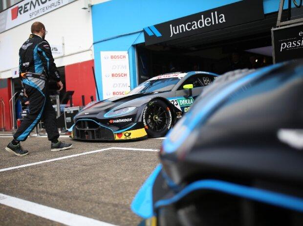Daniel Juncadella, Aston Martin