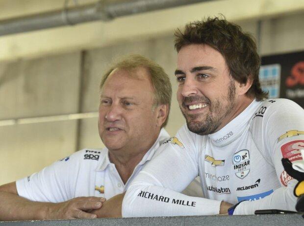 Fernando Alonso, Bob Fernley