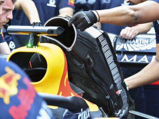 Kühler bei Red Bull