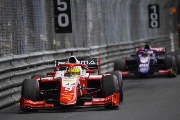 Mick Schumacher Giuliano Alesi Prema Prema Theodore Racing F2Trident Trident F2 ~Mick Schumacher (Prema) und Giuliano Alesi (Trident) ~