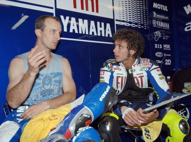 Valentino Rossi, Colin Edwards