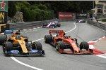 Charles Leclerc (Ferrari) und Lando Norris (McLaren)