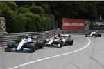 Robert Kubica (Williams), Antonio Giovinazzi (Alfa Romeo) und George Russell (Williams)