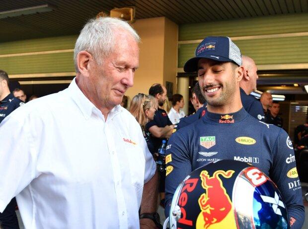 Helmut Marko, Daniel Ricciardo