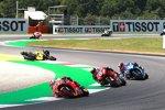 Jack Miller (Pramac), Marc Marquez (Honda), Andrea Dovizioso (Ducati) und Alex Rins (Suzuki)