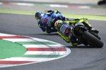 Valentino Rossi hinter Joan Mir