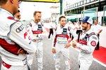 Robin Frijns (Abt-Audi) und Andrea Dovizioso