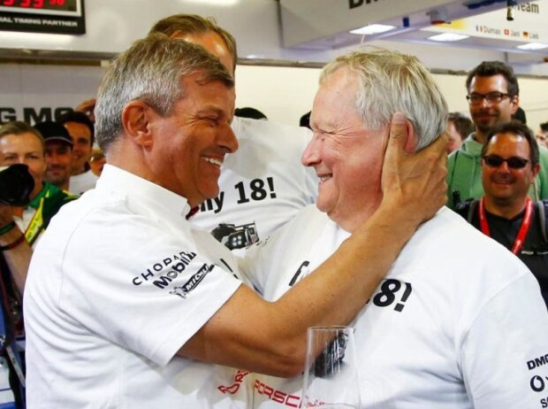 Fritz Enzinger und Wolfgang Porsche