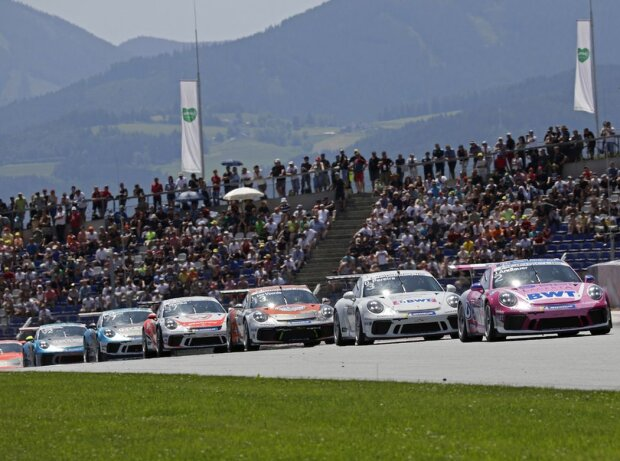 Porsche-Carrera-Cup in Spielberg