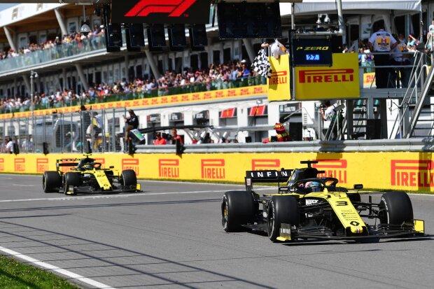 Daniel Ricciardo Nico Hülkenberg  ~Daniel Ricciardo (Renault) und Nico Hülkenberg (Renault) ~