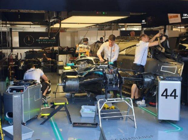 Mercedes W10 von Lewis Hamilton