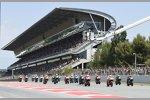 MotoGP Start in Barcelona