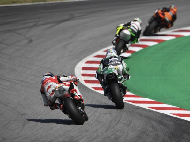 Moto2-Action in Barcelona