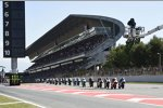 Moto3 Start in Barcelona