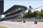 Moto2 Start in Barcelona