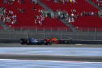 Lewis Hamilton (Mercedes) und Max Verstappen (Red Bull)