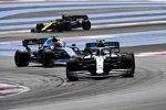 Valtteri Bottas (Mercedes), Robert Kubica (Williams) und Daniel Ricciardo (Renault)