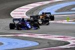 Alexander Albon (Toro Rosso), Romain Grosjean (Haas) und Carlos Sainz (McLaren)