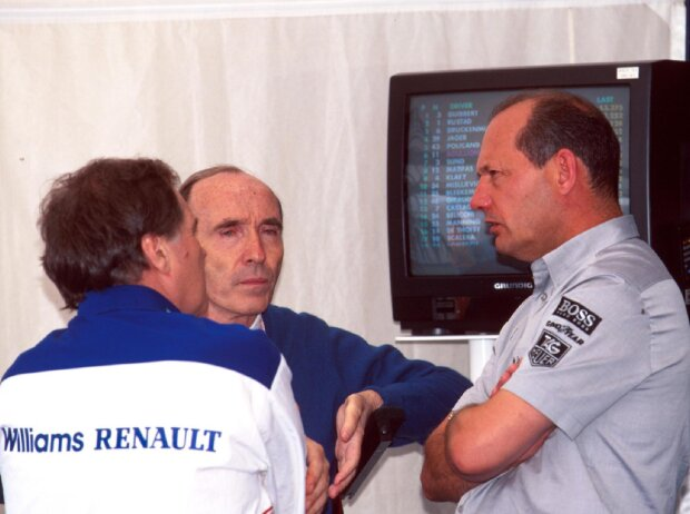 Frank Williams, Patrick Head, Ron Dennis