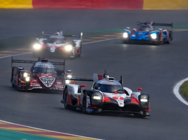 LMP1-Parade, Toyota, Rebellion Racing, SMP Racing