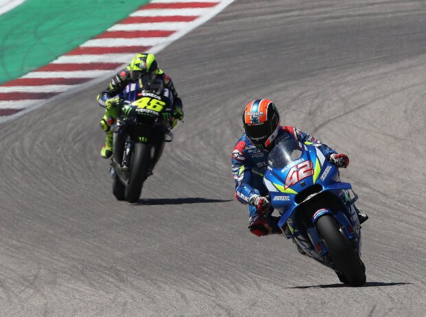 Alex Rins, Valentino Rossi