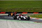 Antonio Giovinazzi (Alfa Romeo) und Lando Norris (McLaren)