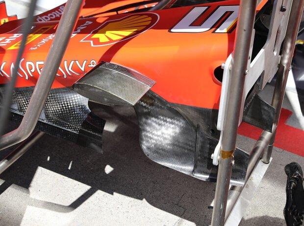 Ferrari SF90, Technik, Turning Vanes