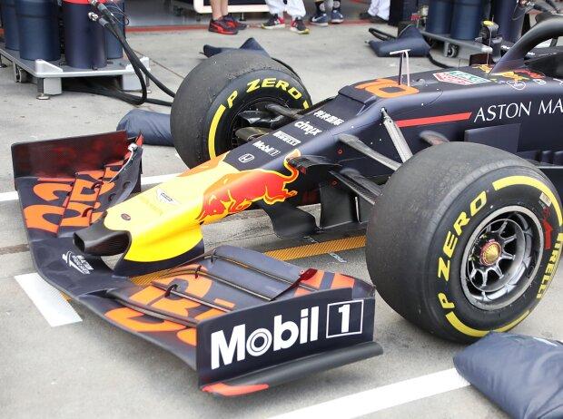 Red Bull RB15, Nase, Frontflügel, Technik