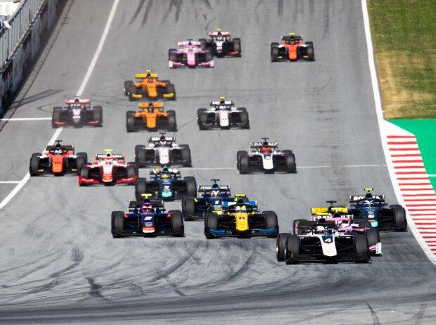 Formel 2 in Spielberg
