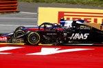 Alexander Albon (Toro Rosso) und Romain Grosjean (Haas)