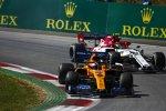 Carlos Sainz (McLaren) und Antonio Giovinazzi (Alfa Romeo)