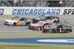 Renn-Action auf dem Chicagoland Speedway