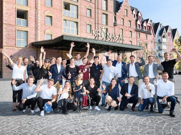 Laureus Sport for Good Workshop im Europapark