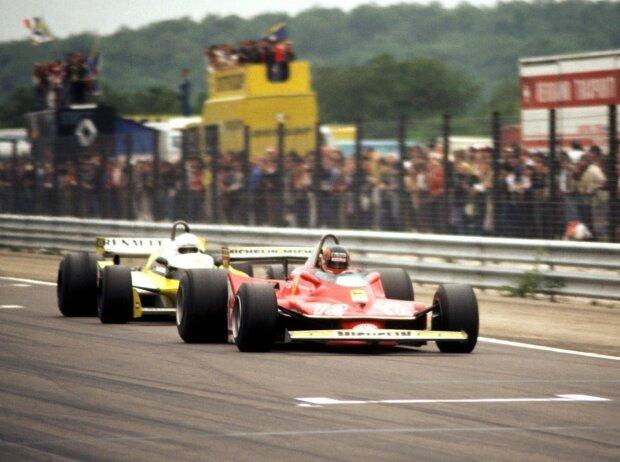 Rene Arnoux, Gilles Villeneuve