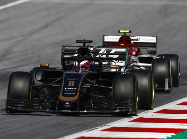 Romain Grosjean, Antonio Giovinazzi